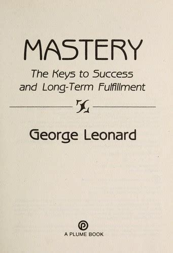 Pdf Mastery Success Term Fulfillment by Mastery The To Term Success And Fulfillment