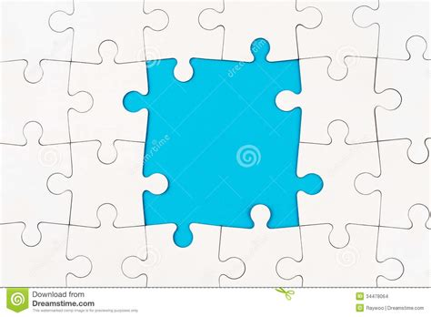 How To Make A Paper Puzzle - puzzle stock images image 34478064