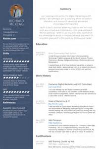 Resume Examples Skills by Concepteur De Sites Web Exemple De Cv Base De Donn 233 Es