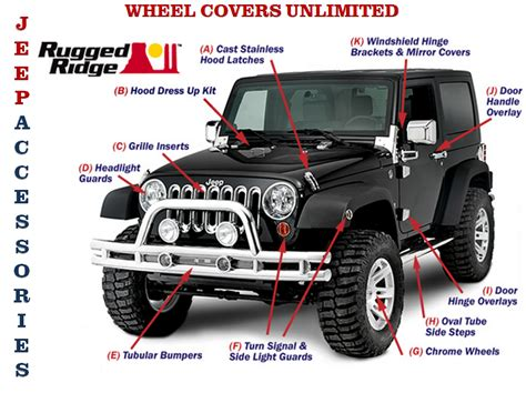 chrome jeep accessories jeep accessories wheel tire wheel covers unlimited