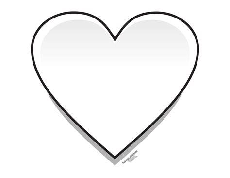 imagenes para colorear de corazones imagenes de un corazon para colorear imagui