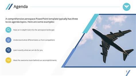 aviation powerpoint templates clean airplane premium powerpoint template slidestore