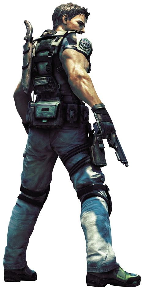 the skills of chris redfield be a character
