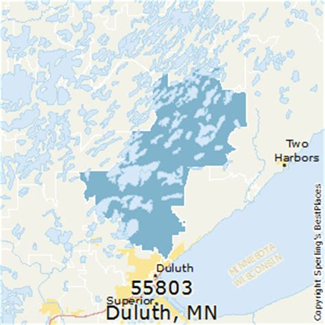 zip code map duluth mn best places to live in duluth zip 55803 minnesota