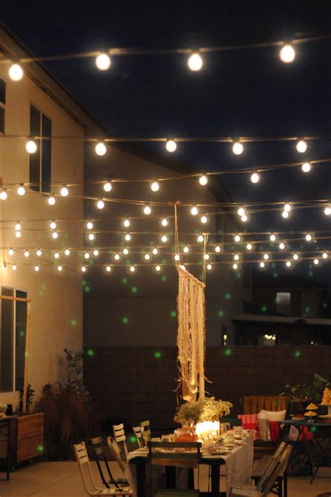 Houzz Outdoor Lighting Houzz Contest A Pretty Backyard Dinner Eclectic Patio Los Angeles