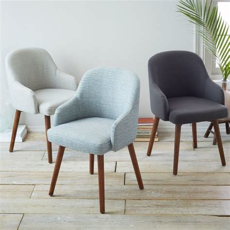 West Elm Dining Chair by Saddle Dining Chair Contemporary Dining Chairs By