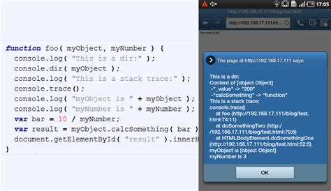 android javascript debugging javascript on android and ios eclipsesource