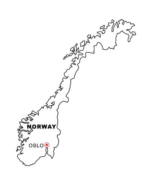norway map coloring page norway map coloring pages