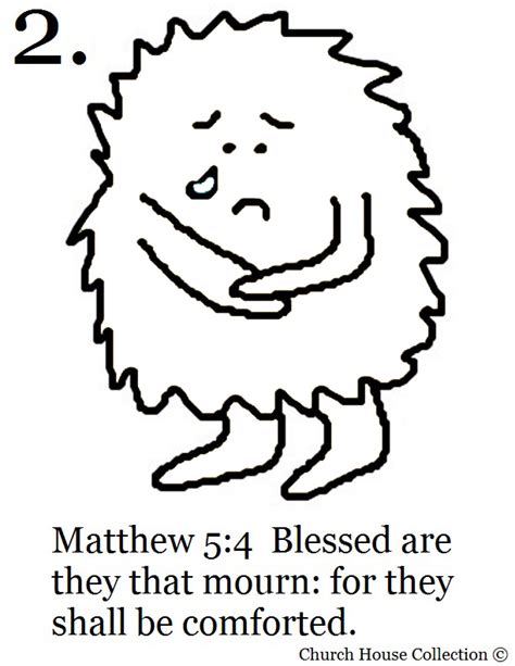 church house collection blog the beatitudes coloring page