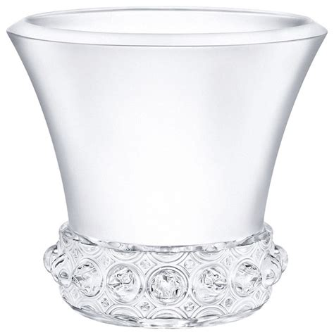 Clear Gel For Vases by Lalique Lagune Vase Large Clear Transitional Vases