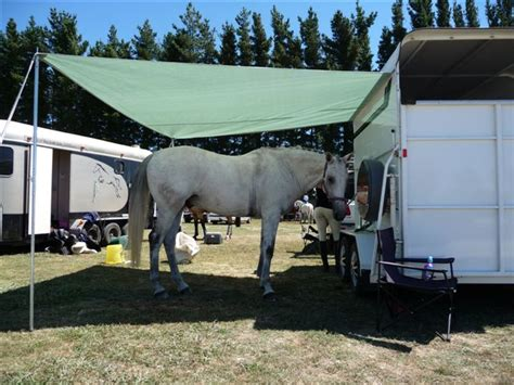 horse float awning awnings for motorhomes caravans horse floats trucks nz
