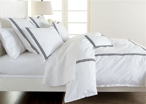 Queen White Duvet Cover White Queen Duvet Cover With Black Embroidery Ethan Allen