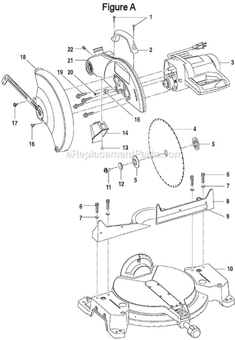 Ryobi Ts13550 Parts List And Diagram Ereplacementparts Com