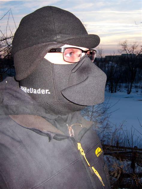 Masker Fogging fog evader mask breath deflector bike