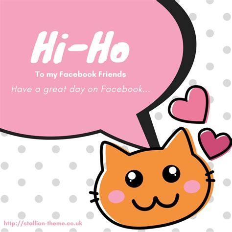 facebook ho hi ho to my facebook friends image