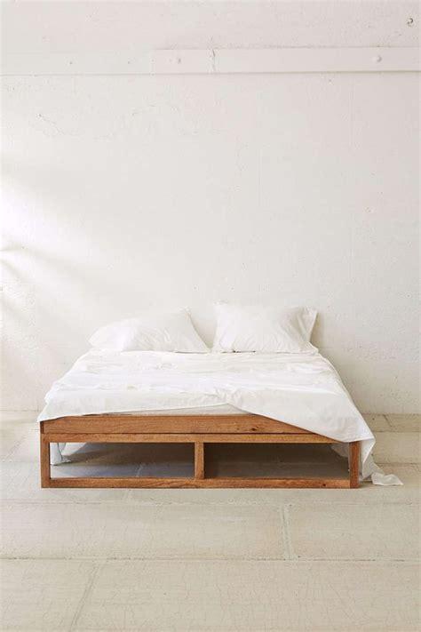 minimalist platform bed morey platform bed from urban outfitters bedroom