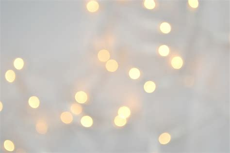 White Christmas Lights Wallpaper Wallpapersafari White Lights