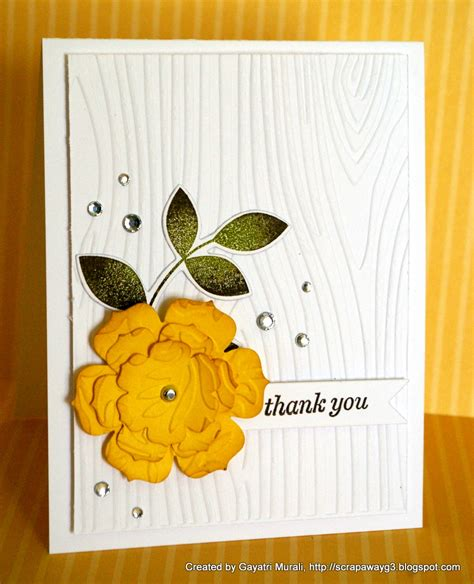 Thank You Handmade Cards - handmade by g3 cas thank you cards