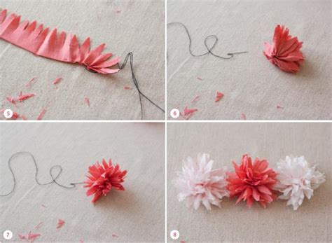 Handmade Fabric Flowers Tutorial - diy tutorial wedding flowers diy fabric flower tutorial