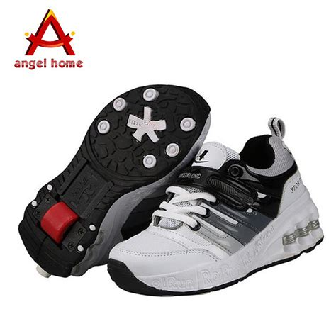 shoe with wheels new fasion children shoes with wheels boys roller