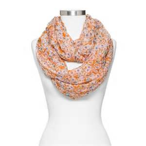 Infinity Scarves At Target S Floral Print Infinity Scarf
