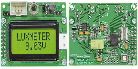 Lu Led Motor Klx luxmetro con range da 1 a 100 klx elettronica open source