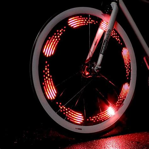 monkey light adds colorful illumination to your bicycle