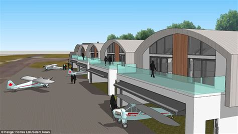 Build Homes Online Build Homes With An Aircraft Hanger To Park Your Plane