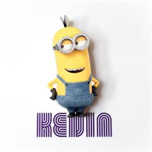 kevin despicable me minions minis 3d wall light