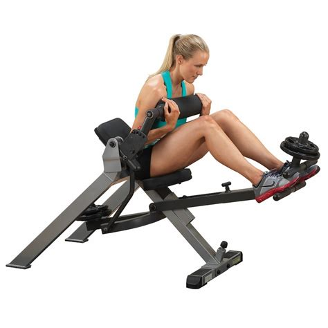 body solid ab crunch bench body solid gab350 synchronized recumbent ab bench