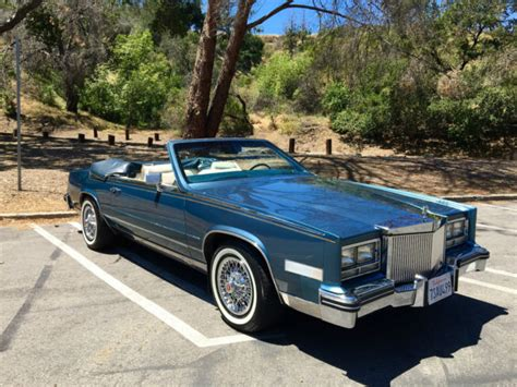 1985 Cadillac Biarritz Convertible For Sale 1985 Cadillac Eldorado Biarritz Convertible 2 Door No