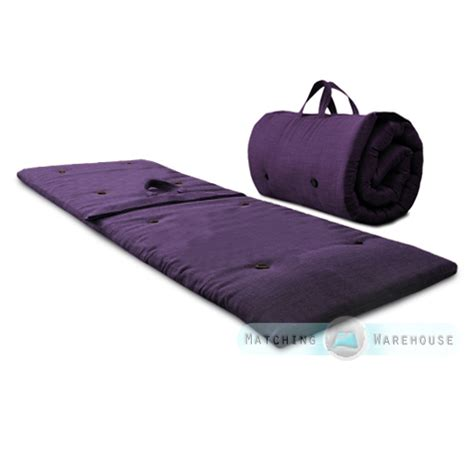 futon roll roly poly guest sleep over mattress roll up futon z bed