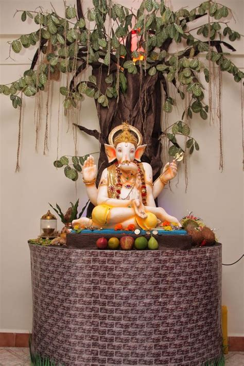 eco friendly ganesh and decoration on pinterest