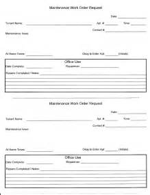 apartment maintenance request form template besttemplates123