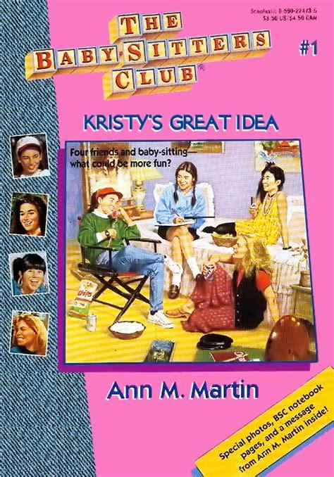 Kristy S Great Idea The Baby Sitters Club Wiki