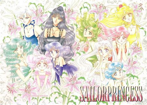 Promo Sailor Moon 1 18t Naoko Takeuchi sailors others on naoko takeuchi sailor