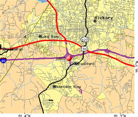 hickory carolina map 28602 zip code hickory carolina profile homes