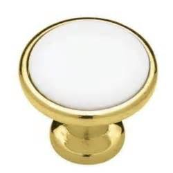 box of 10 polished brass gold cabinet knobs p50162 pbw c