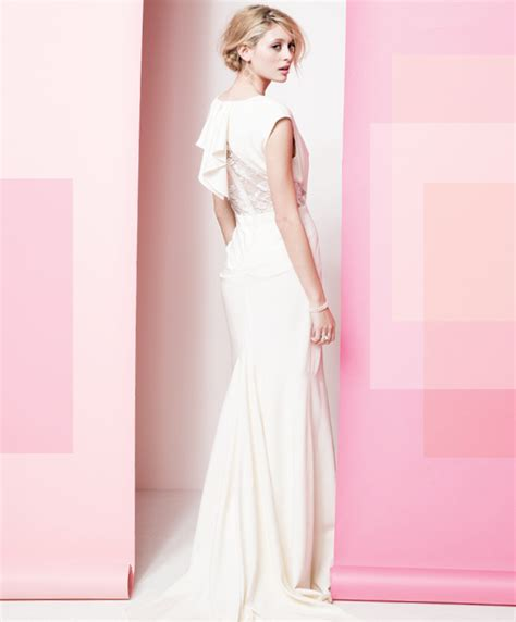 colored wedding gowns think pink the best in blush colored wedding gowns