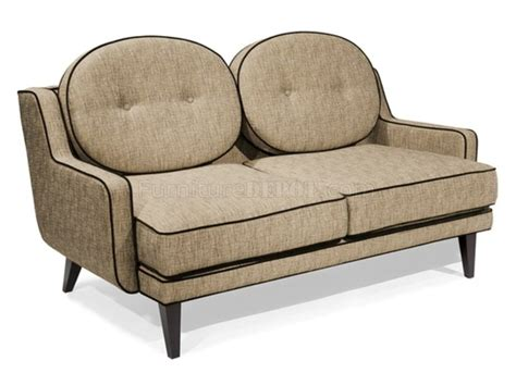 chenille loveseat cumin chenille fabric modern draper sofa loveseat w options