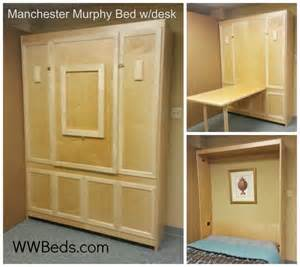 Murphy Bed Table Plans Manhattan Murphy Bed W Desk Custom By Chris Davis