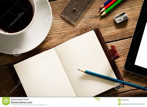 Busy Desk Royalty Free Stock Image   Image: 30988406