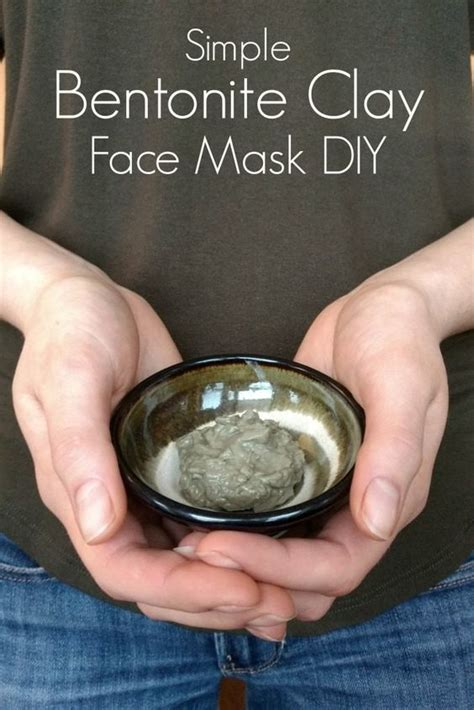 Bentonite Clay Detox Cancer by Detox Your Skin With This Bentonite Clay Mask