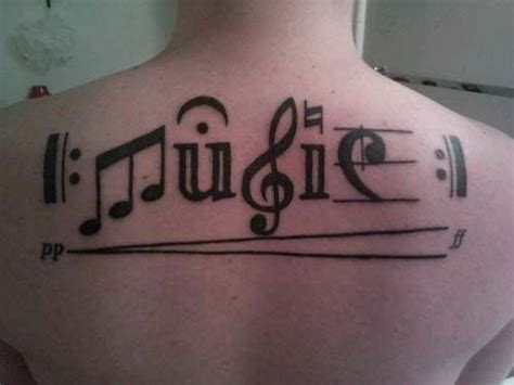 tattoo on your back song adorable music back music style tattoo tattoomagz