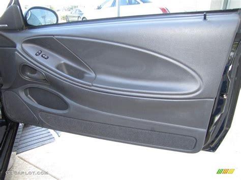 Mustang Interior Door Panel 2003 Ford Mustang Cobra Coupe Charcoal Medium Parchment Door Panel Photo 78926520