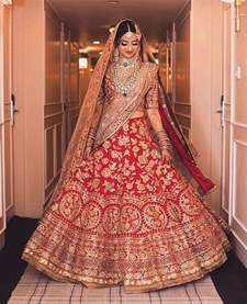 Bridal Wear Best 25 Indian Wedding Dresses Ideas Only On