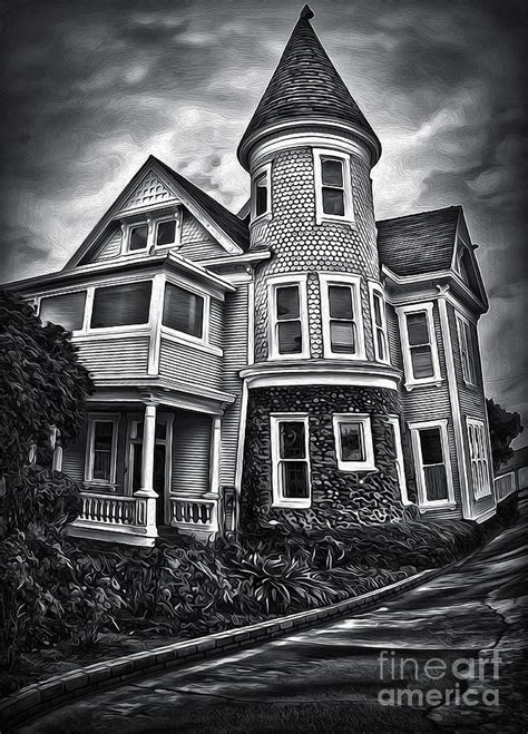 5 american haunted houses their creepy backstories haunted house painting by gregory dyer