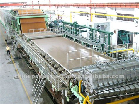 Paper Corrugated Box Machinery - corrugated paper machine buy paper machine kraft paper