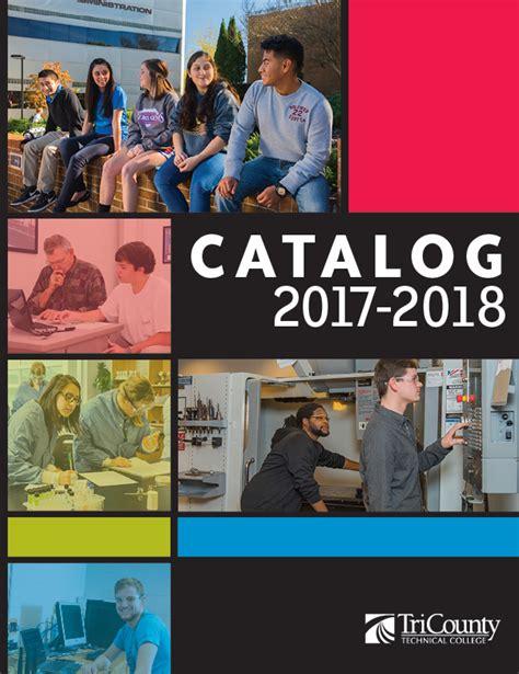 magazine design university course tri county technical college acalog acms