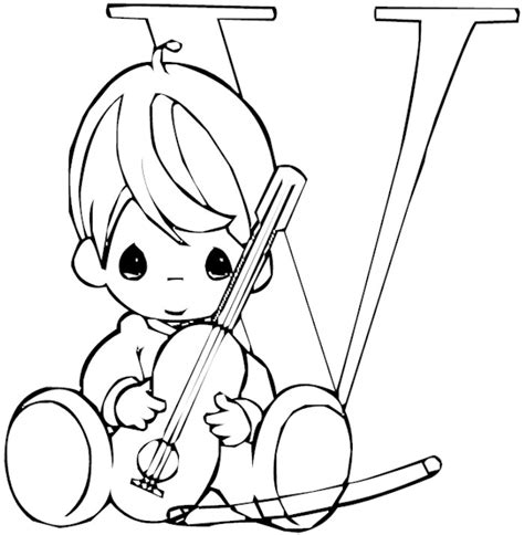 alphabet coloring pages precious moments precious moments alphabet coloring pages 27718